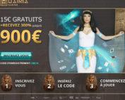 Code bonus Osiris Casino avec bonus gratuit