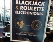 Tables de blackjack électronique dans les Joacasinos