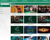 Roulette en live Cresus Casino de 3 logiciels avec croupiers en direct