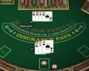Exemple de table de blackjack gratuit en ligne